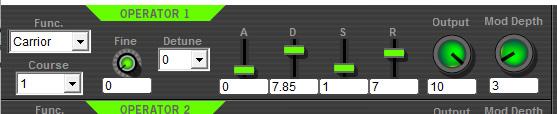 Free 4-Operator FM Synthesizer SFM4 Operator