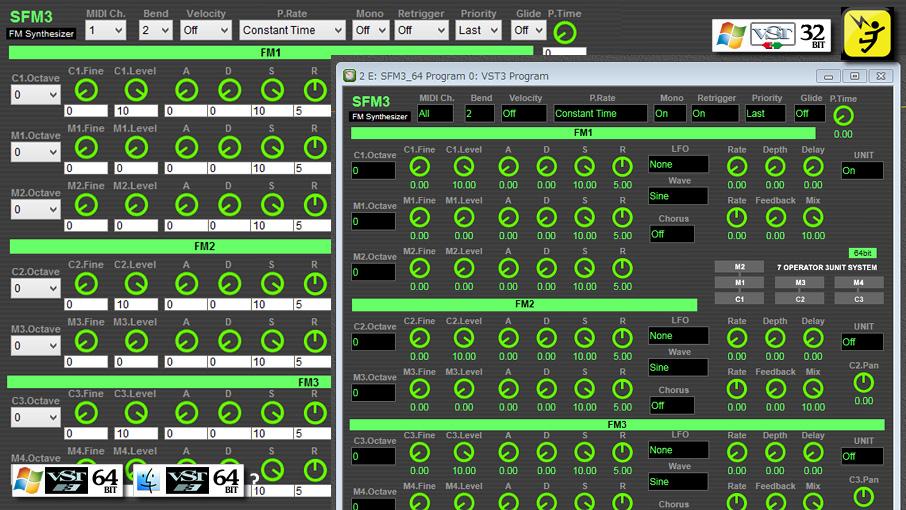 フリーFMシンセ SFM3