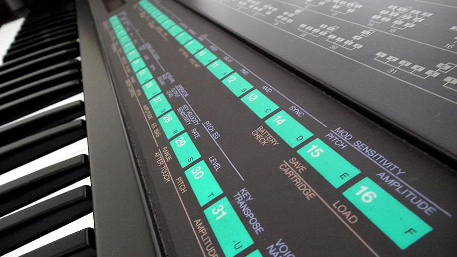 Yamaha DX7 ボイスデータ