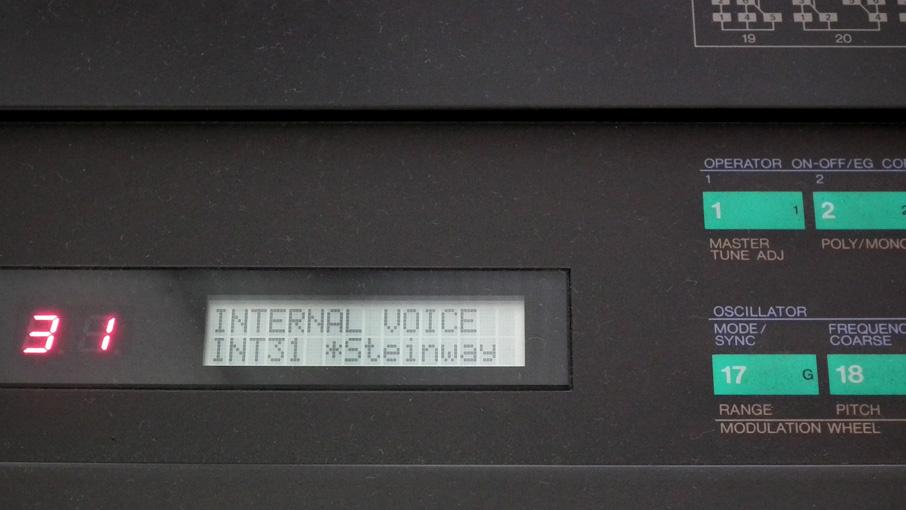 DX7のエレピ Steinway
