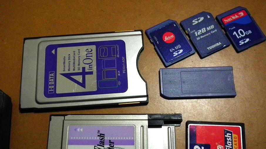 Roland MS-1で使えるアダプターとメディアその2