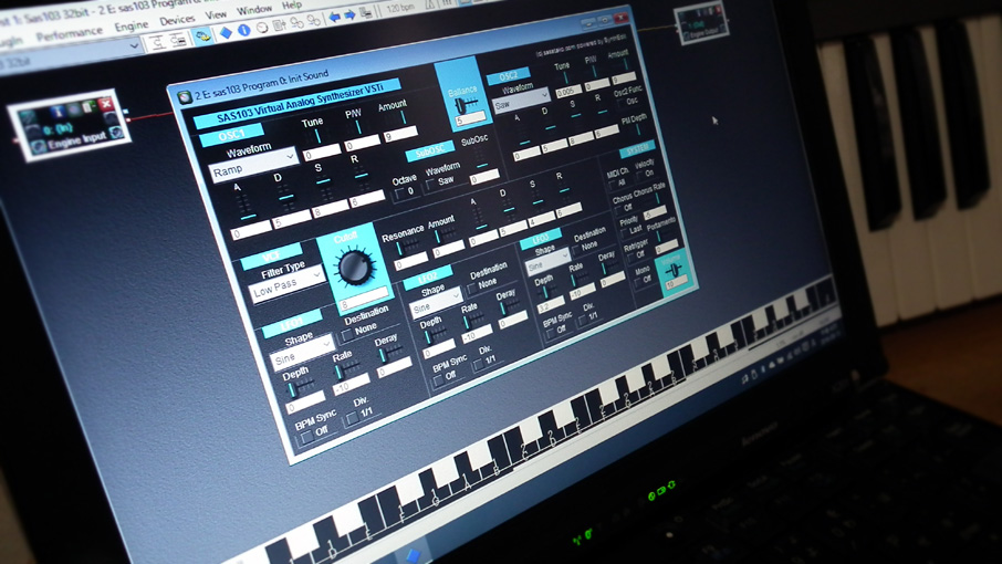 Free VSTi Virtual Analog Synthesizer SAS103