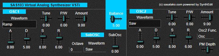 Sas103 Oscillator