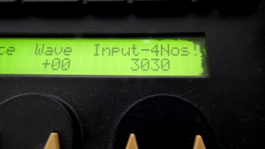 謎のInput-4Nos!