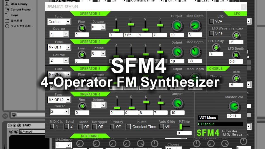 SFM4 VSTi