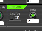Free 4-Operator FM Synthesizer SFM4 Chorus Effect