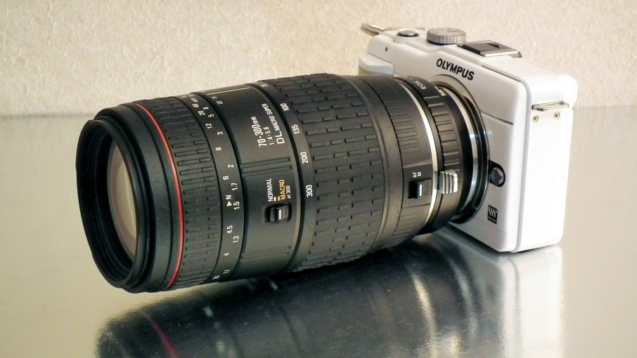 SIGMA 70-300mm F4-5.6 DL MACRO SuperをOlympus E-PL1sで使ってみる