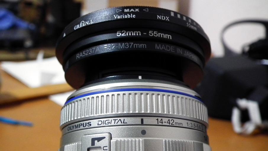 レンズ-37mm52mm-52mm-55mm-可変ND