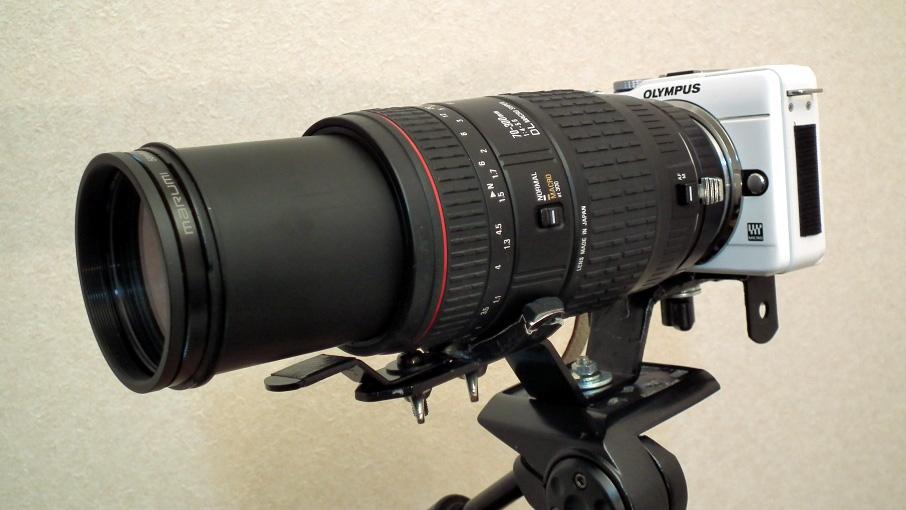 自作運台+SIGMA70-300mm
