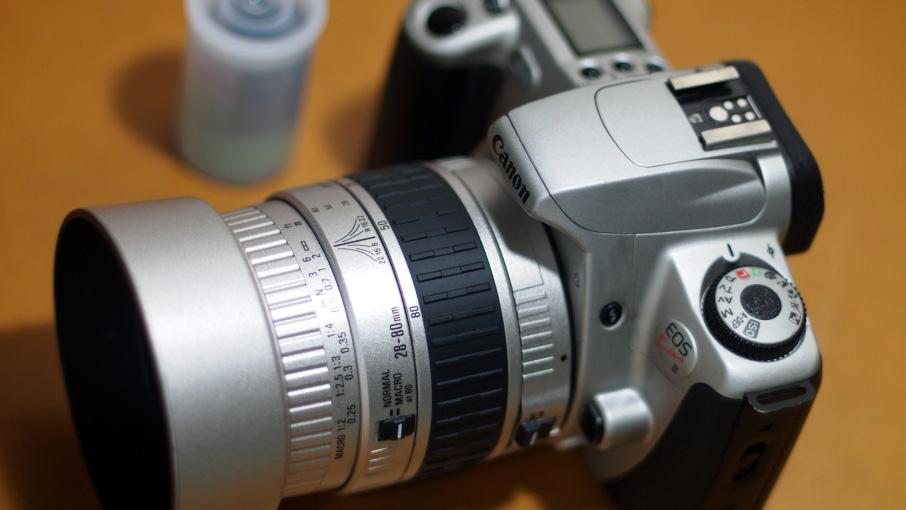 Canon EOS Kiss III +Sigma 28-80mmマクロ