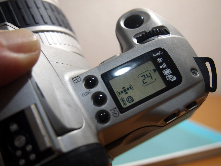 Canon EOS Kiss III 操作パネル