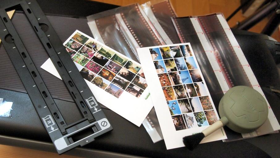 Canoscan 5200Fでの35mmフィルムスキャンテスト