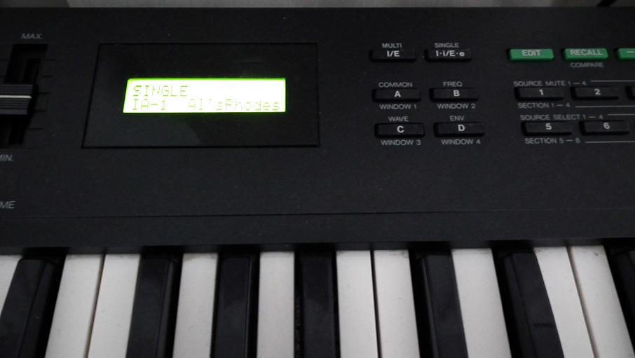 Kawai K-1 キーボード