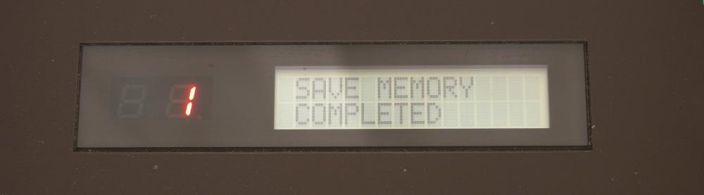 DX7用RAMカートリッジ|保存出来ちゃった?