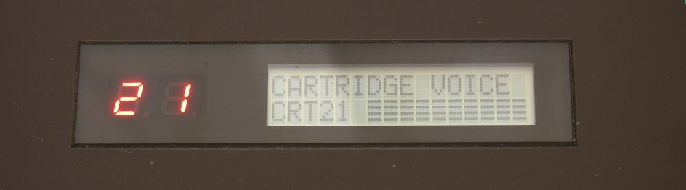 DX7用RAMカートリッジ|21番以降が壊れてるみたい