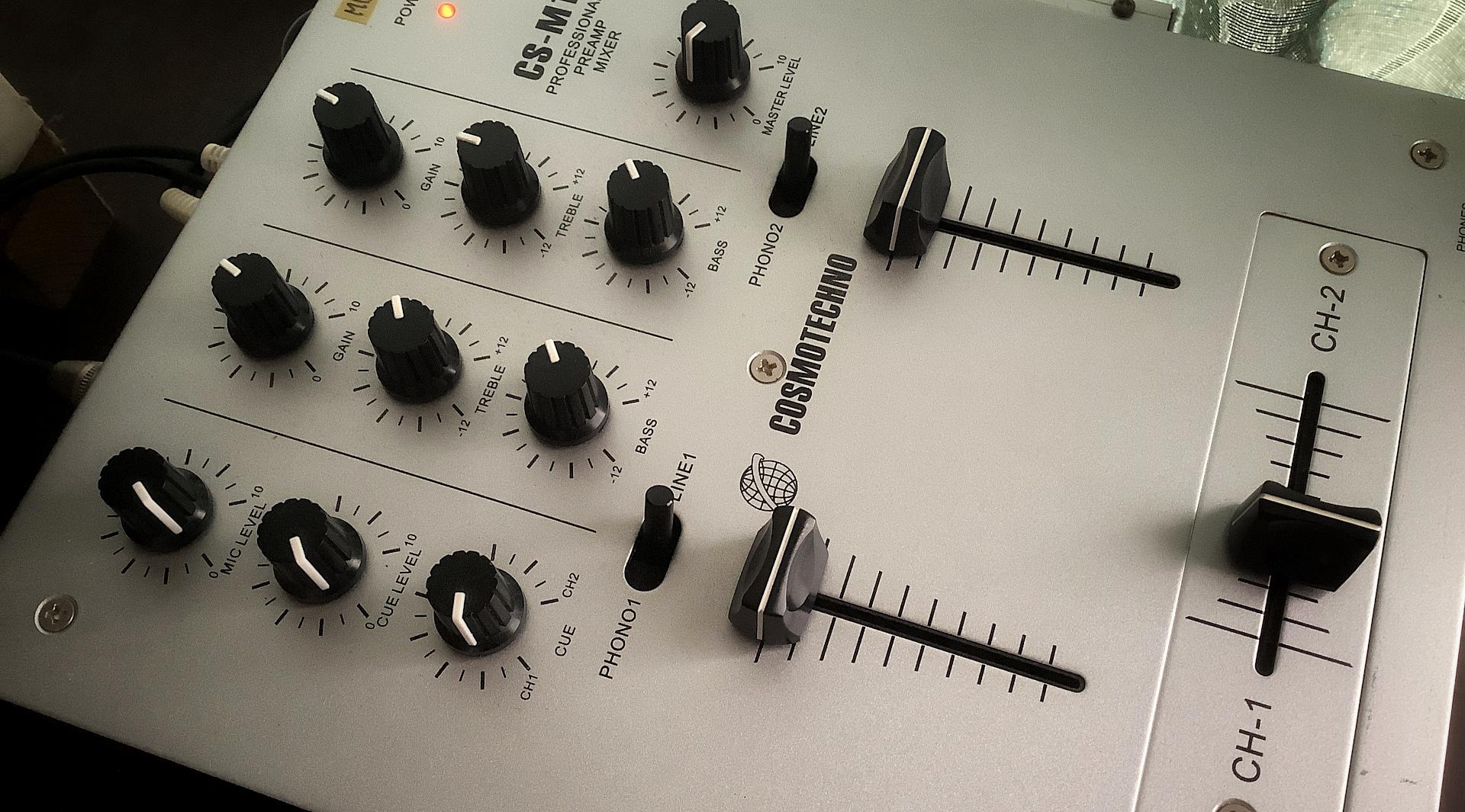 DJ MIXER CS-M1