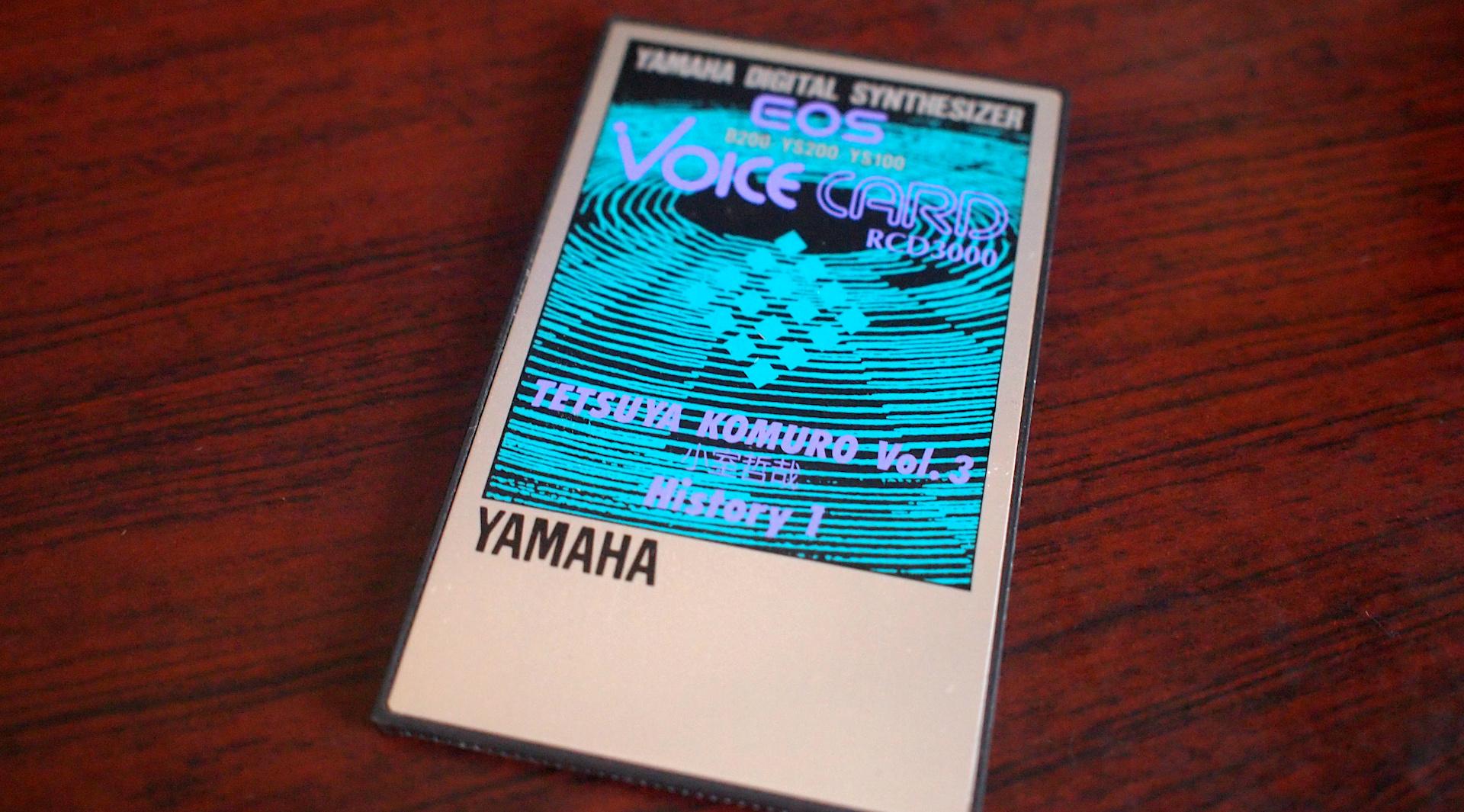 EOS VOICE CARD RCD3000 TETSUYA KOMURO vol.3
