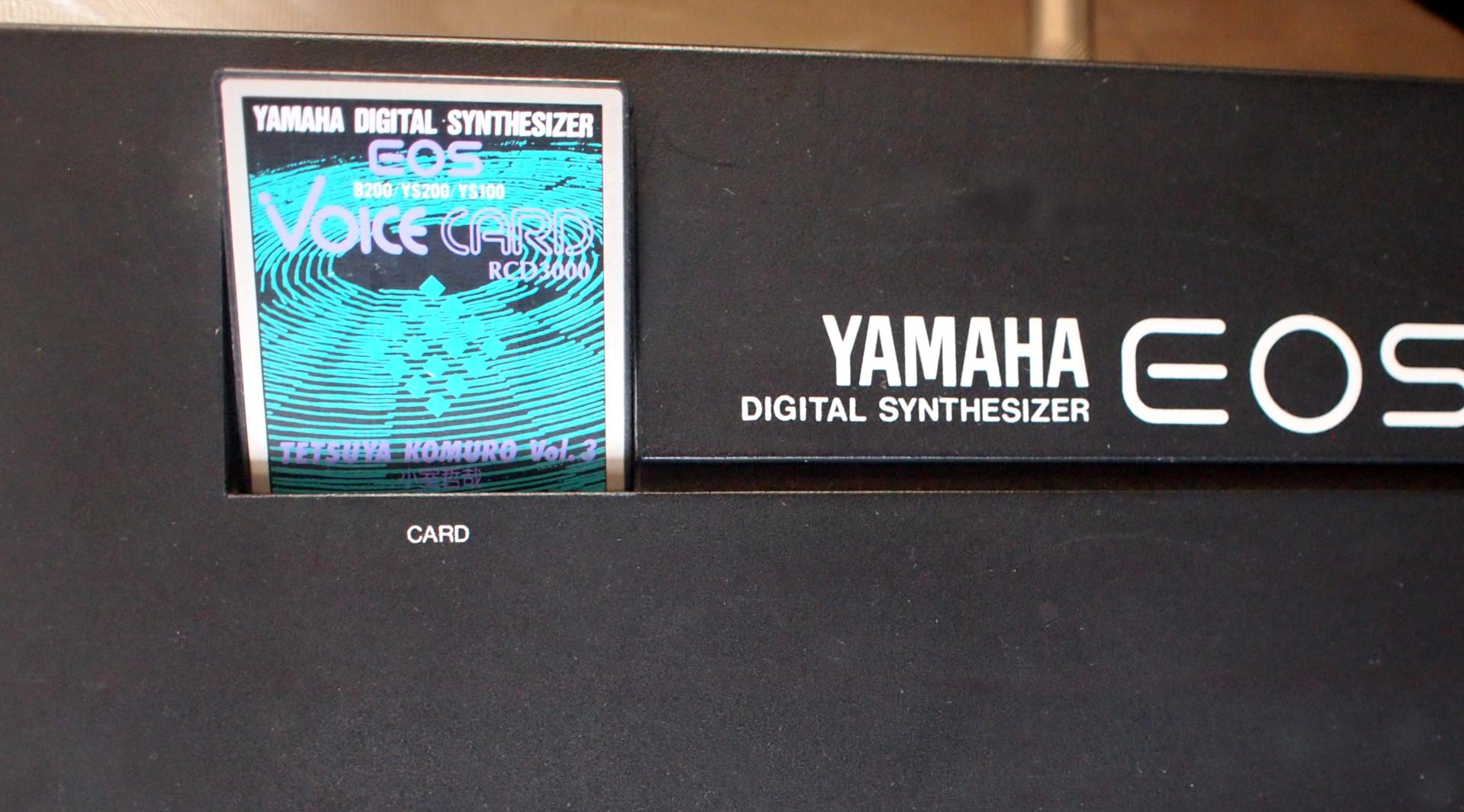EOS VOICE CARD をYS100に