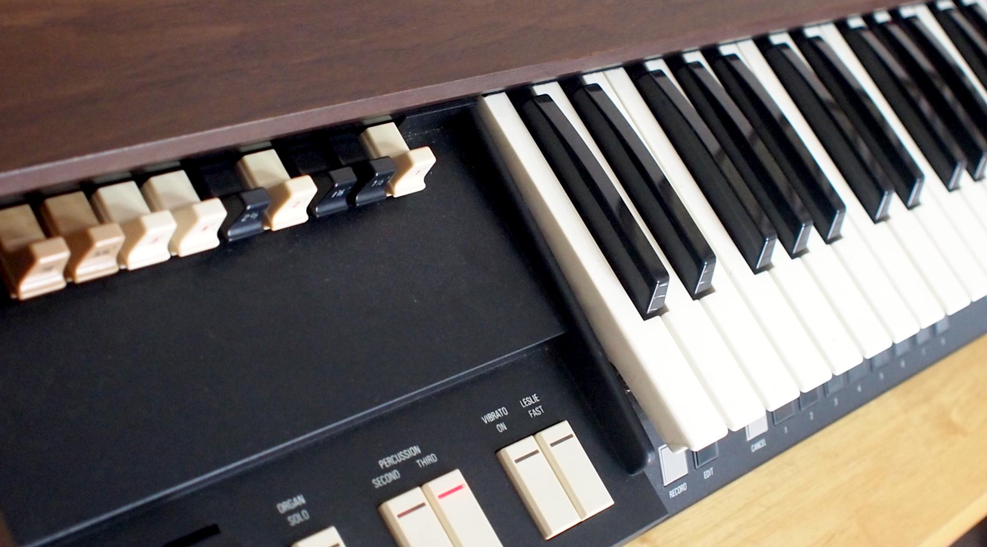 Hammond XB-2 カッコいい